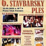 6. Stavbársky Ples SPŠ Emila Belluša Trenčín